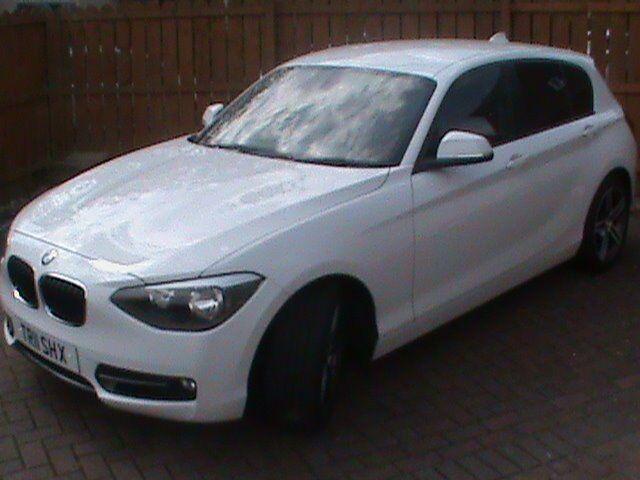 BMW 116D SPORT 5DR 2012