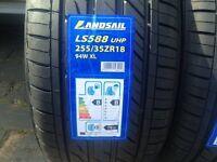 CAR TYRES 255 35 18 xl 94w x2 tyre {PAIR} brand new BMW 3 series e46 e90 M SPORT Rear Tyres