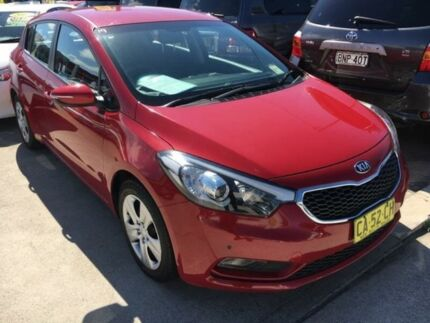 2014 Kia Cerato YD MY14 SI Red 6 Speed Sports Automatic Hatchback