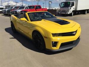 2013 Chevrolet Camaro ZL1 SUPERCHARGED V8 6-SPEED MANUAL