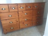 Merchants Chest for sale - fab as it is or an upcycle project