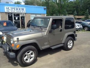 2005 Jeep TJ Sport Fully Certified! Carproof Verified!