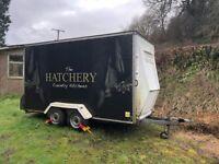 Conway box exhibition trailer