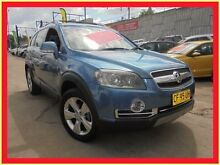 2008 Holden Captiva CG MY08 LX 60th Anniversary Blue 5 Speed Automatic Wagon Holroyd Parramatta Area Preview