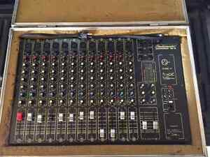 12 Channel UnPowered Mixing Board & Rack Mounting Cases