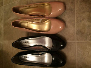 2 Pair Size 10 Mossimo High Heels