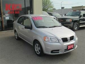 2010 PONTIAC G3 ! VERY LOW KM'S ! ICE COLD A/C !