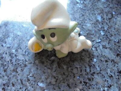 ancien pouet personnage de bande dessinée le bebe  schtroumpf