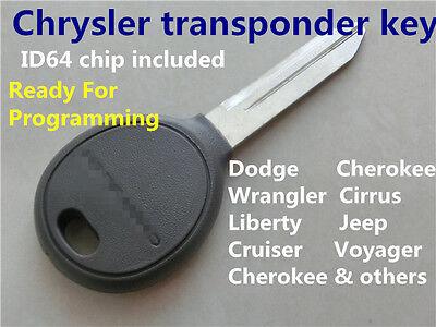 transponder car key Chrysler Dodge Jeep Remote transponder key