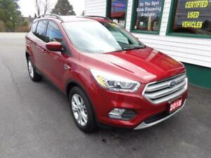 2018 Ford Escape SEL AWD for only $215 bi-weekly all in!