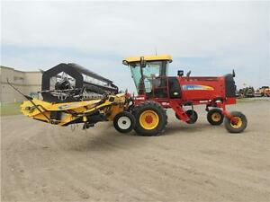 2012 NH H8060 Swather 36', 2 Roto Shears, Roller, Ez-Pilot,524hr Regina Regina Area image 5