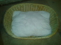 New Dog basket with pillow