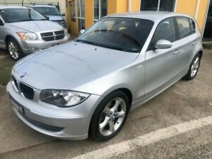 2009 BMW 120d E87 MY09 Silver 6 Speed Automatic Hatchback Hoppers Crossing Wyndham Area Preview