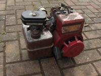 Engine for cement concrete mixer etc Briggs & Startton 3HP