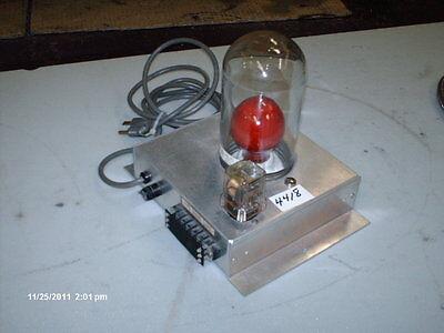 Mosler Alarm System Sonslert Red Light 110vac Sonalert Sc110np