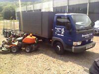 ifor williams trailer gd85 full mesh sides