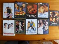 9 Bollywood Films DVD's - Classic Old & New Hindi Movie Titles 10.00 pounds
