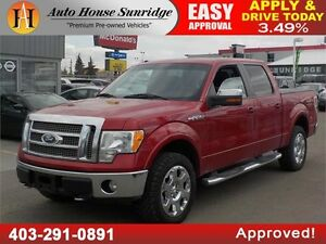 2009 FORD F150 LARIAT LEATHER NAVIGATION SUNROOF!!!