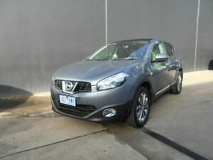 2010 Nissan Dualis J10 MY10 TI (4x2) Grey 6 Speed CVT Auto Sequential Wagon Fawkner Moreland Area Preview