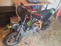 Pitbike Supermoto 110cc