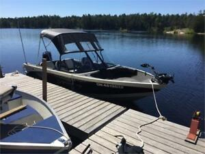 Legend 16ft Xcalibur 60hp Low Hours WITH WARRANTY