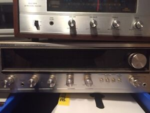 VINTAGE Stereo Receivers  - Pioneer, Sansui, Martel and Hitachi