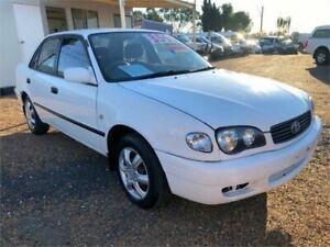 2000 Toyota Corolla AE112R Ascent White 4 Speed Automatic Sedan Minchinbury Blacktown Area Preview