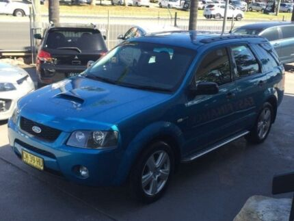 2007 Ford Territory SY Turbo Blue Sports Automatic Wagon Lansvale Liverpool Area Preview