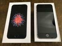 iPhone SE 16GB unlocked. Space Grey. Pristine condition. Excellent battery life