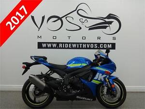 2017 Suzuki GSXR 750 - Stock #V2457 - No Payments for 1 Year**