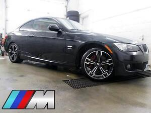 """2010 BMW 335i xDrive M COUPE CUIR ROUGE TOIT MAGS 18"""" 95$/SEM"""