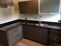 Used Kitchen with Solid Granite Worktop