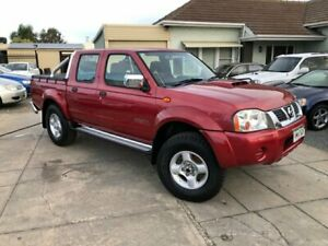2008 Nissan Navara D22 ST-R (4x4) Red 5 Speed Manual Dual Cab Pick-up Park Holme Marion Area Preview