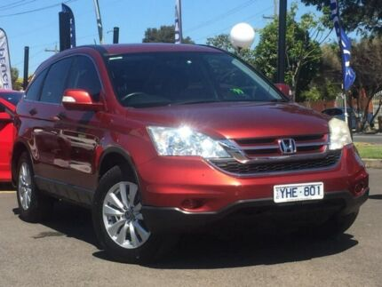 2011 Honda CR-V Red Automatic Wagon Hoppers Crossing Wyndham Area Preview