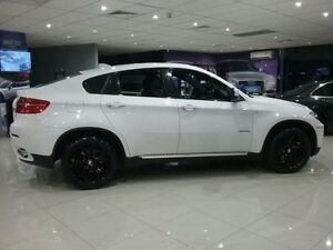 2011 BMW X6 E71 MY11 xDrive 40D White 8 Speed Automatic Coupe Greenacre Bankstown Area Preview