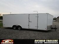 2015 Stealth Trailers LIMITED EDITION 8.5 X 24 + V NOSE / CAR HA