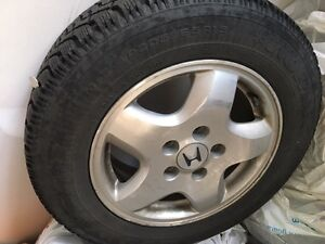 Winter Tire and Rim for Honda Accord for sale