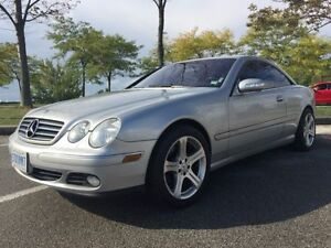 REDUCED - 2003 Mercedes-Benz CL-Class 500 - Clean Carfax!