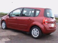 RENAULT GRAND MODUS 1.5 DIESEL AUTOMATIC 5 DR,RED,1 YRS MOT,CLICK ON VIDEO LINK TO SEE MORE OF CAR
