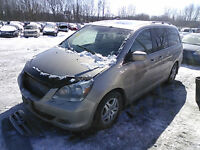 HONDA ODYSSEY (2005/2010 FOR PARTS PARTS ONLY)