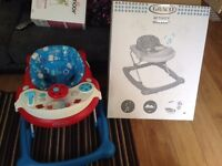 BABY ITEMS NOW REDUCED- baby walker - rarely used - sounds play tray -all working