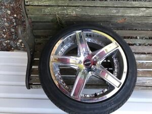 RIMS AND TIRES  500.00