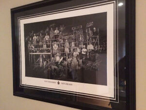 Toronto Maple Leafs Limited Edition Prints Autographed 87/250