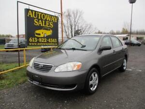 2007 Toyota Corolla Safety & Warranty Included