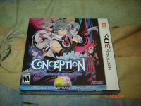 CONCEPTION II NINTENDO 3DS LIMITED EDITION NEUF SEALED