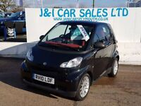 SMART FORTWO 0.8 PASSION CDI 2d AUTO 54 BHP 6 SERVICES STAMPS G (black) 2010