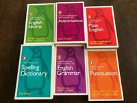 6 x Penguin Guides to English