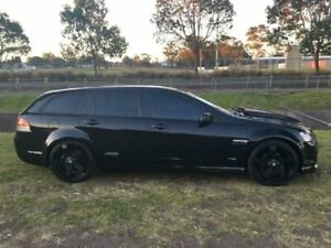 2010 Holden Commodore VE II SS-V Black 6 Speed Manual Sportswagon Mayfield East Newcastle Area Preview