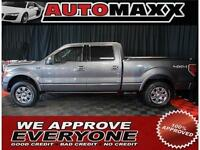 2011 Ford F-150 Platinum $255 Bi-Weekly! APPLY NOW DRIVE NOW!