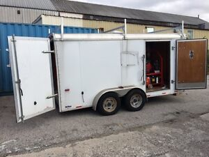 Hotsy Pressure Washer with 130 hours and Trailer London Ontario image 5